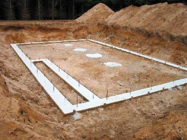 The Initial Foundation Footings